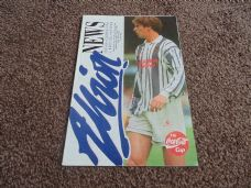 West Bromwich Albion v Bristol Rovers, 1993/94 [CC]